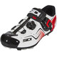 Sidi Cape Shoes Men White/Black/Red